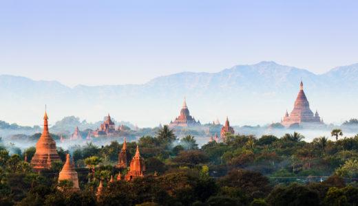 【ミャンマー】朝焼けが絶景!バガン遺跡群への行き方【気球ツアーもあるよ】