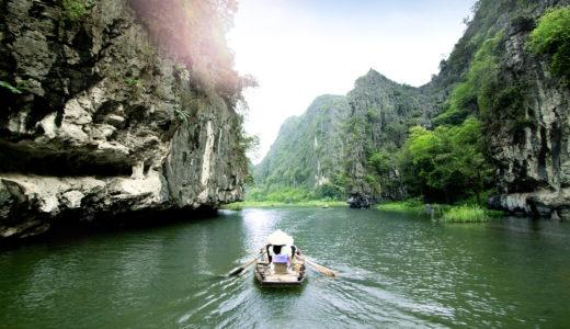 【ベトナム】ハノイの穴場観光スポット!Tamcoc(タムコック)で川下りしてみた【世界遺産】